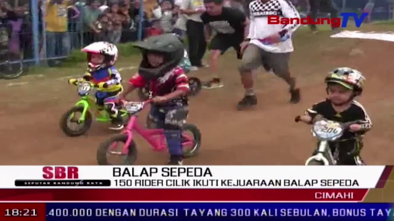 150 Rider Cilik Ikuti Kejuaraan Balap Sepeda   SBR   BANDUNG TV