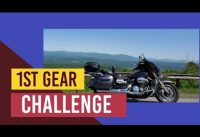 1st gear challenge on the Vstar 1300. Vlog#334