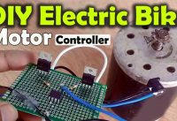 Arduino Project: Electric Bike | Bicycle | E Bike Motor controller using mc33152 & Parallel MOSFETs