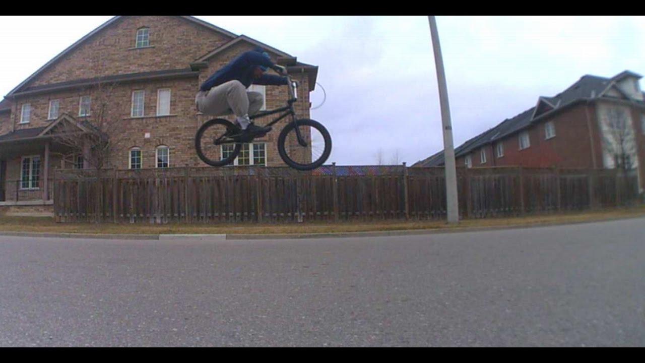 Autistic BMX rider never quits!