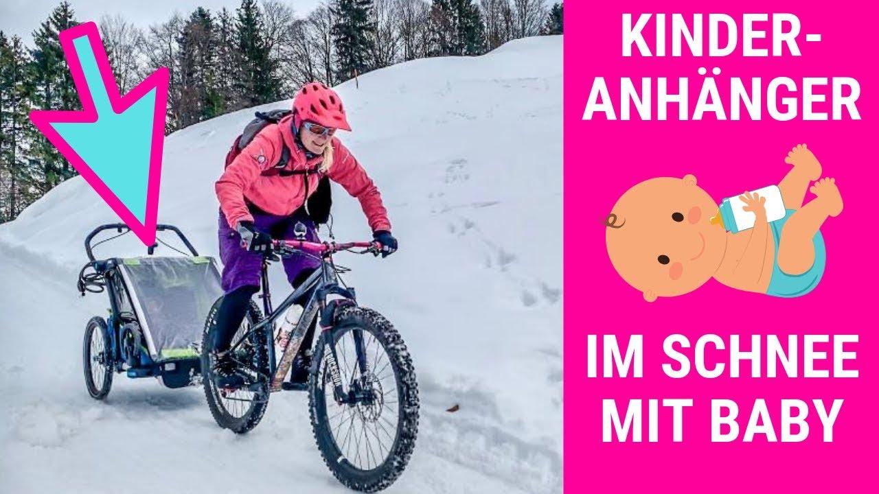 BABY HACKS: PRAXISTEST THULE CHARIOT KINDERANHÄNGER MOUNTAINBIKE / Bike - Kinderwagen - Babyjogger