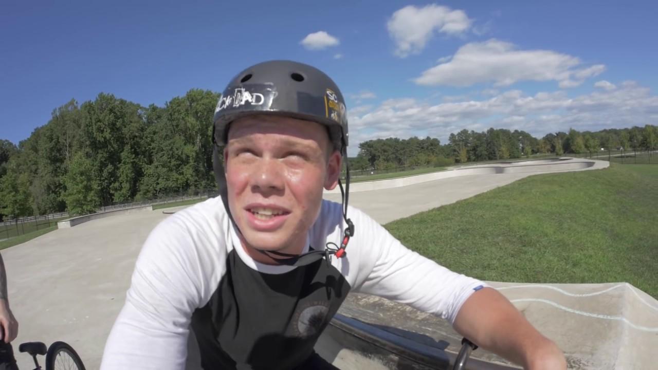 BMX BRIDGE JUMP! / FUNNY