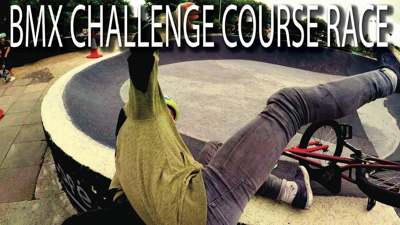 BMX CHALLENGE COURSE RACE!!