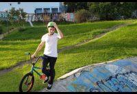 BMX Curitiba - Andando na pista da Esmeralda