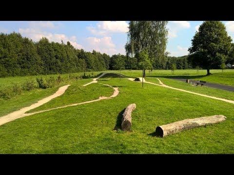 Bike Parcours Detmold - Hindernisse auf 200m Mountainbike Strecke