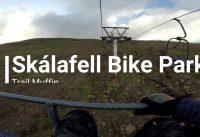 Bike park Skálafell - Iceland