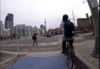 Bike to Work along Martin Goodman Trail