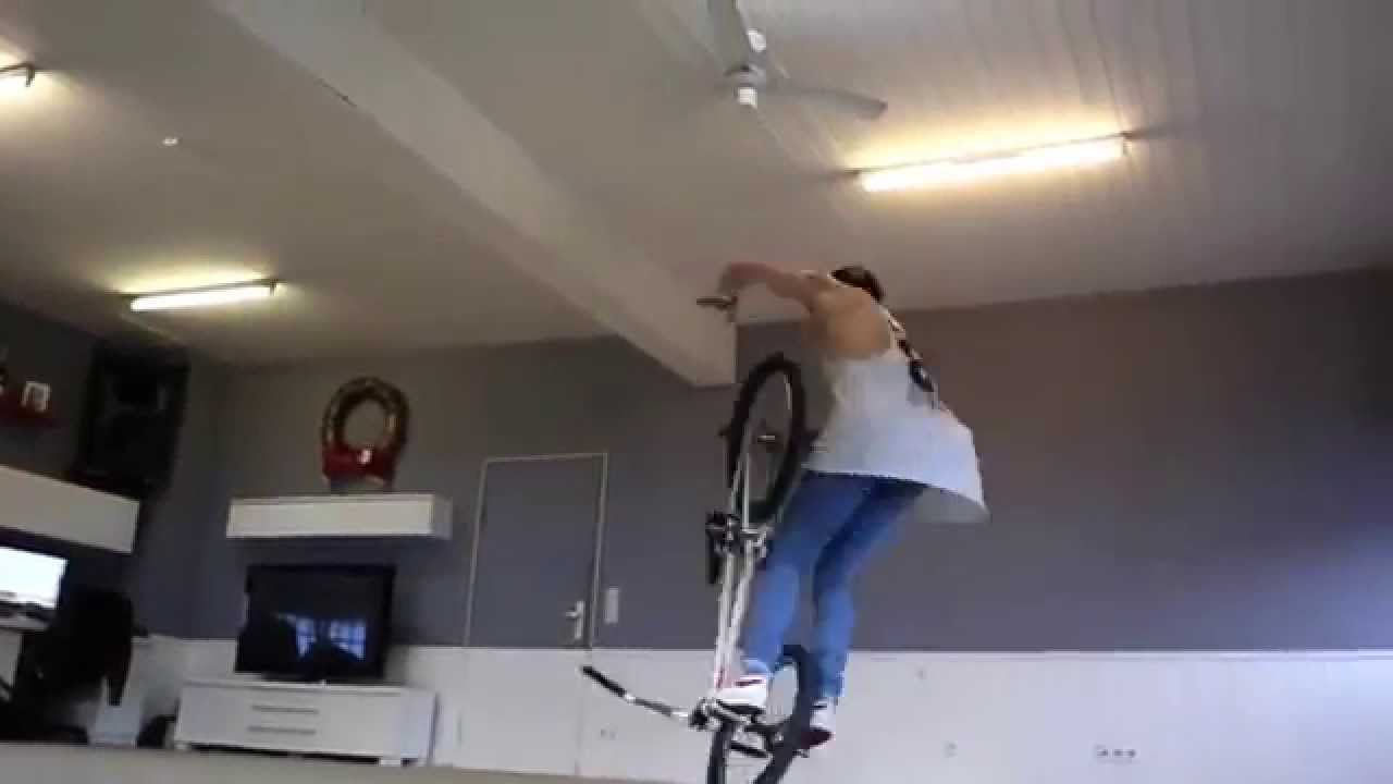 Chris Böhm ride BMX in his apartment   Moves 2014 REMAKE!!! BY DJ FROST