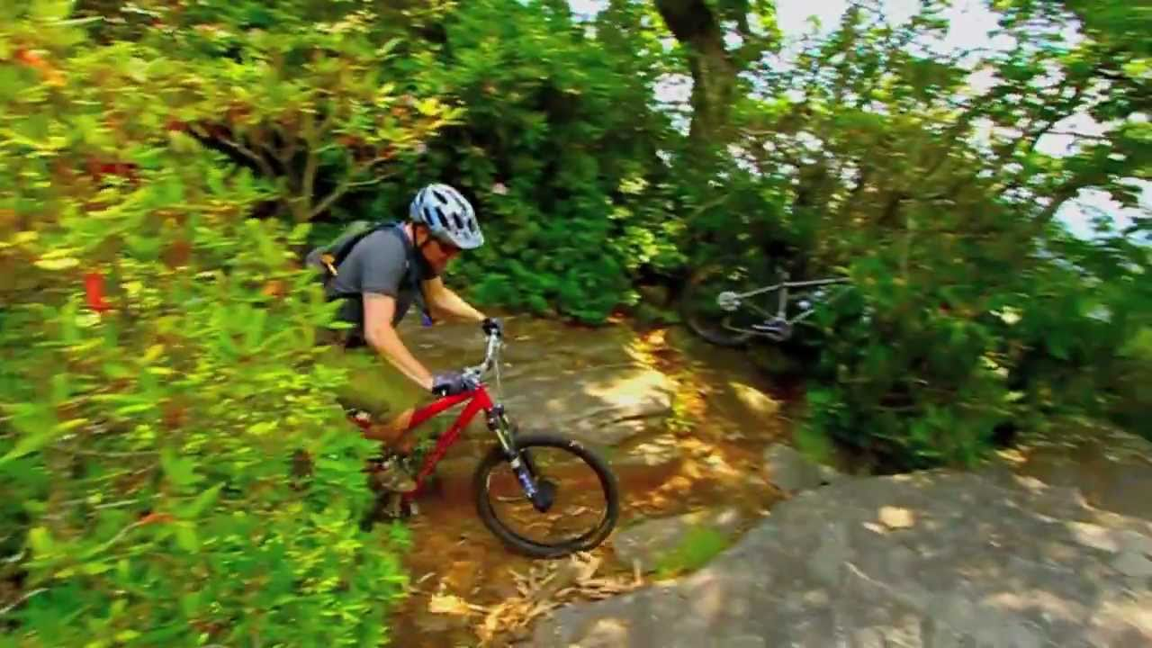 Clawhammer Pisgah Mountain Bike Tech Moves North Carolina