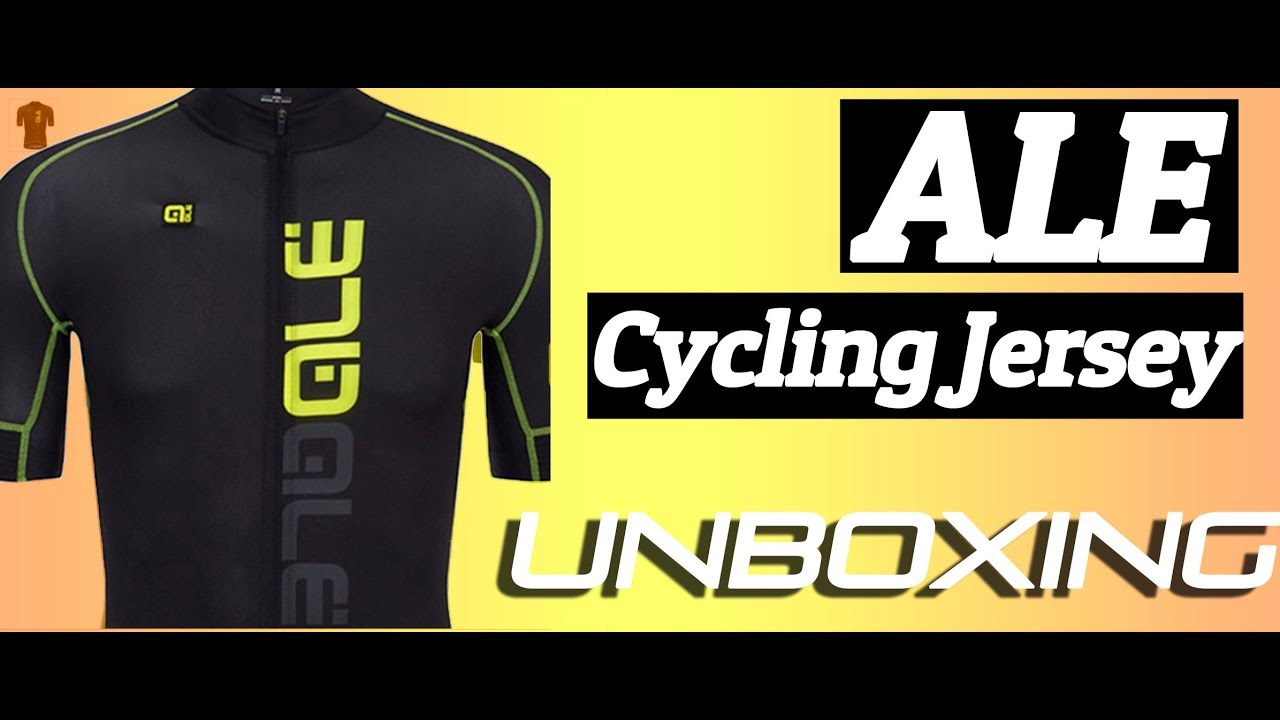 Cycling Jersey Unboxing Video |ALE Cycling Jersey 2018 | Men's Summer MTB Bike Breathable Jersey