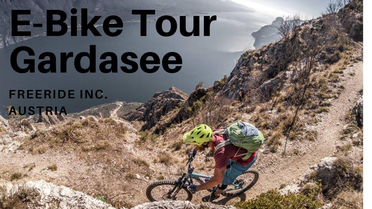 E-Bike Tour Gardasee mit mega Aussicht - Mountainbike Hot Spot Gardasee