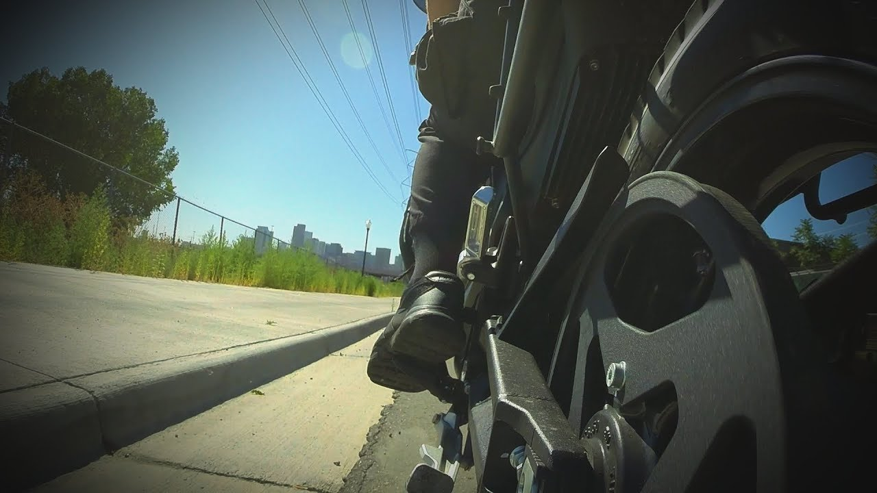 Electric Motorcycles at DPD