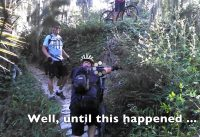 Embarrassing Mountain Bike Fail after Crash into Lake