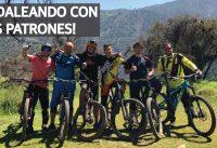 Enduro en el Bike Park con mis Patrones!!
