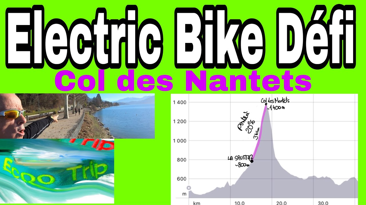 F7 Electric Bike Fun : DEFI  vertical du col des Nantets