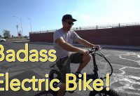 FAST ELECTRIC BIKE! (28 MPH) + Mojo Bus Update