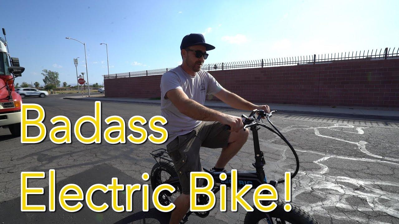 FAST ELECTRIC BIKE! (28 MPH) + Mojo Bus Update