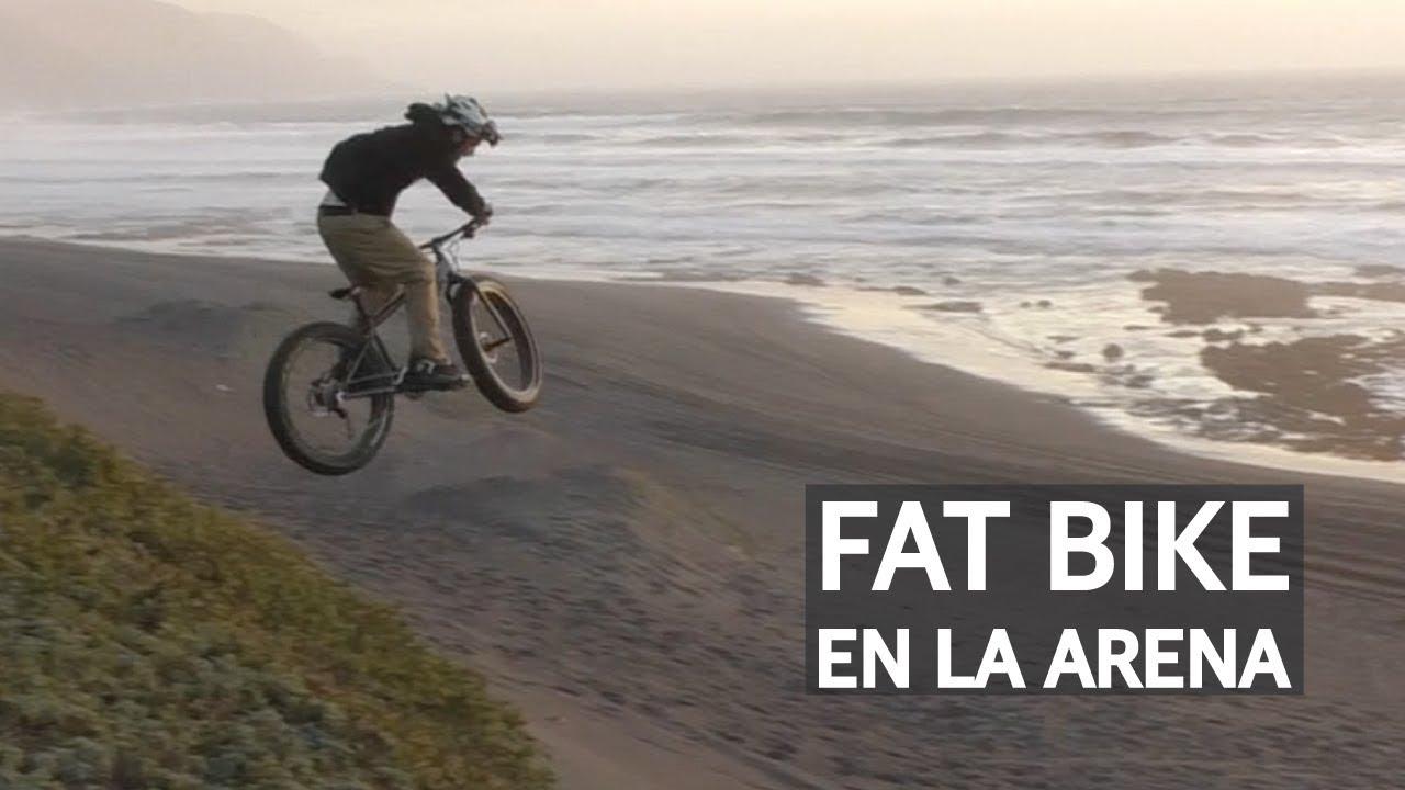 Fat Bike aún más gorda Bike Park OMZ y Freeride en la arena!