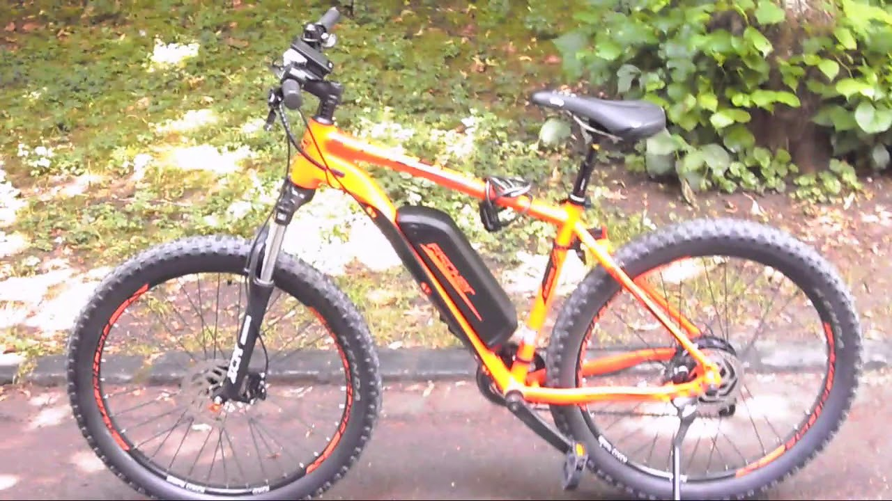 Fischer EM 1723 E Bike (250 watt Leistung) Test