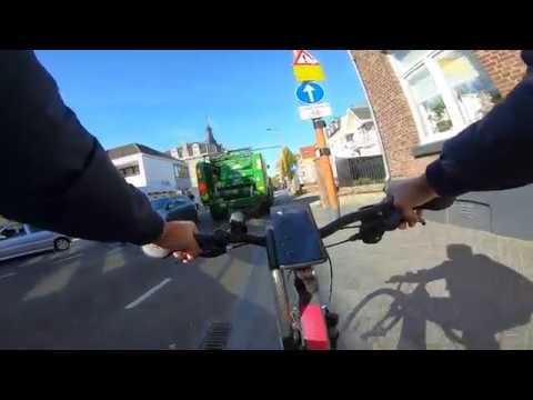 GoPro Hero 7 Black - Mountain Biking in Valkenburg, Netherlands 🇳🇱 | Part 1