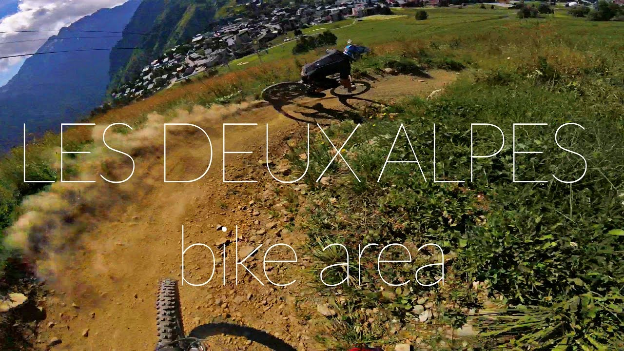 GoPro mtb edit - LES DEUX ALPES bike area with Nico [ hero4 session ]
