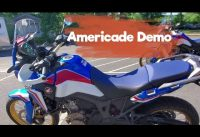 Got a honda Goldwing demo | walk around the demo lot | bike talk | Americade