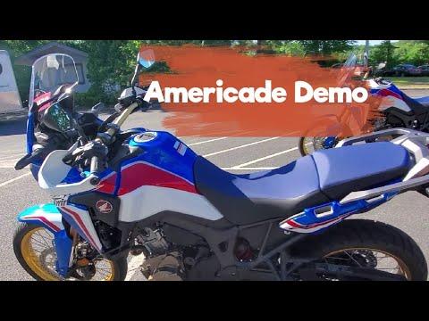 Got a honda Goldwing demo   walk around the demo lot   bike talk   Americade