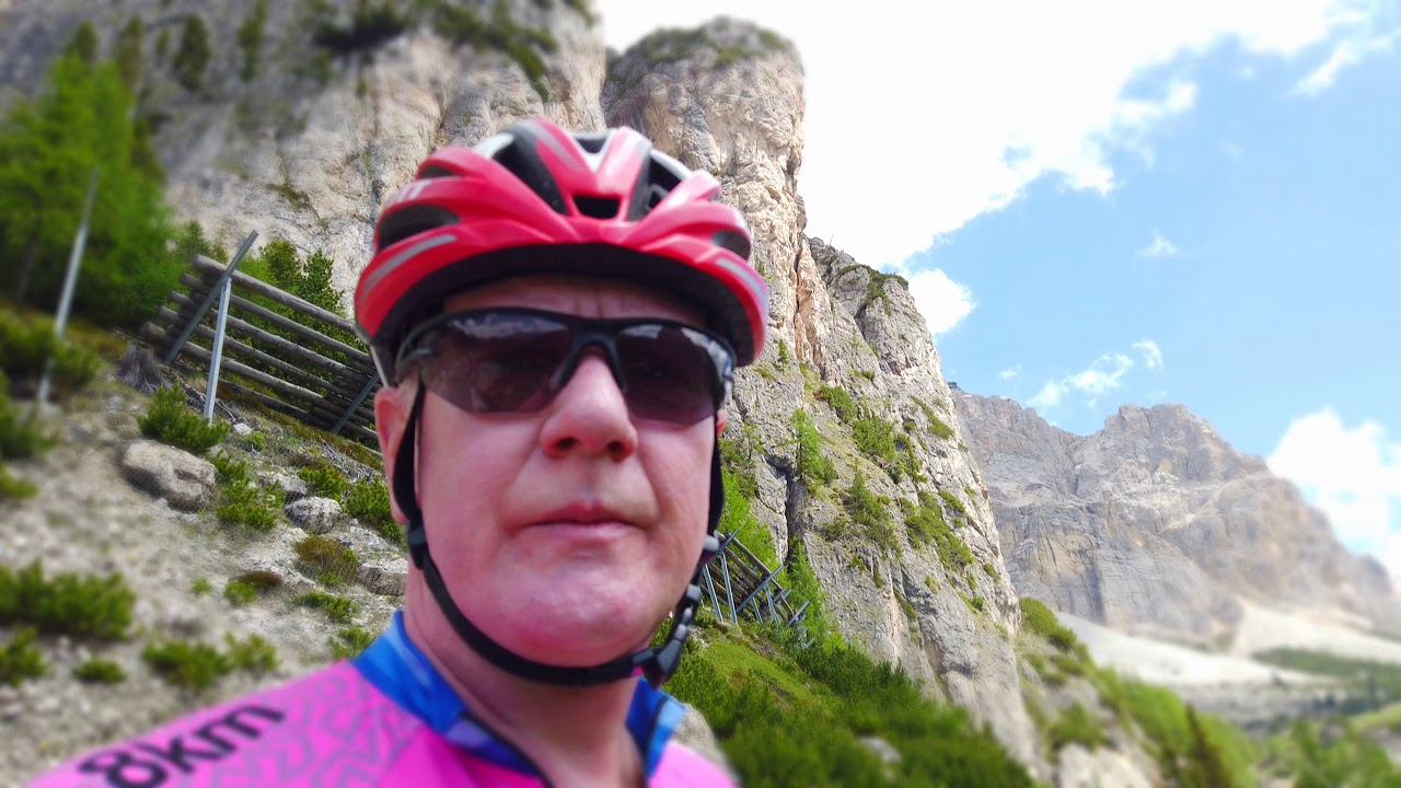Gut geölt = halbe Kraft. Dolomites Bike Day 2019