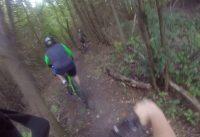 I broke my foot mountain biking in Ontario! MTB mountain bike fail broken bone