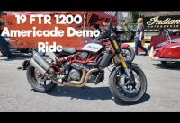 Indian FTR1200 Demo ride at Americade Vlog#336