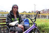 Jonathan Camargo, campeón colombiano de BMX Flatland