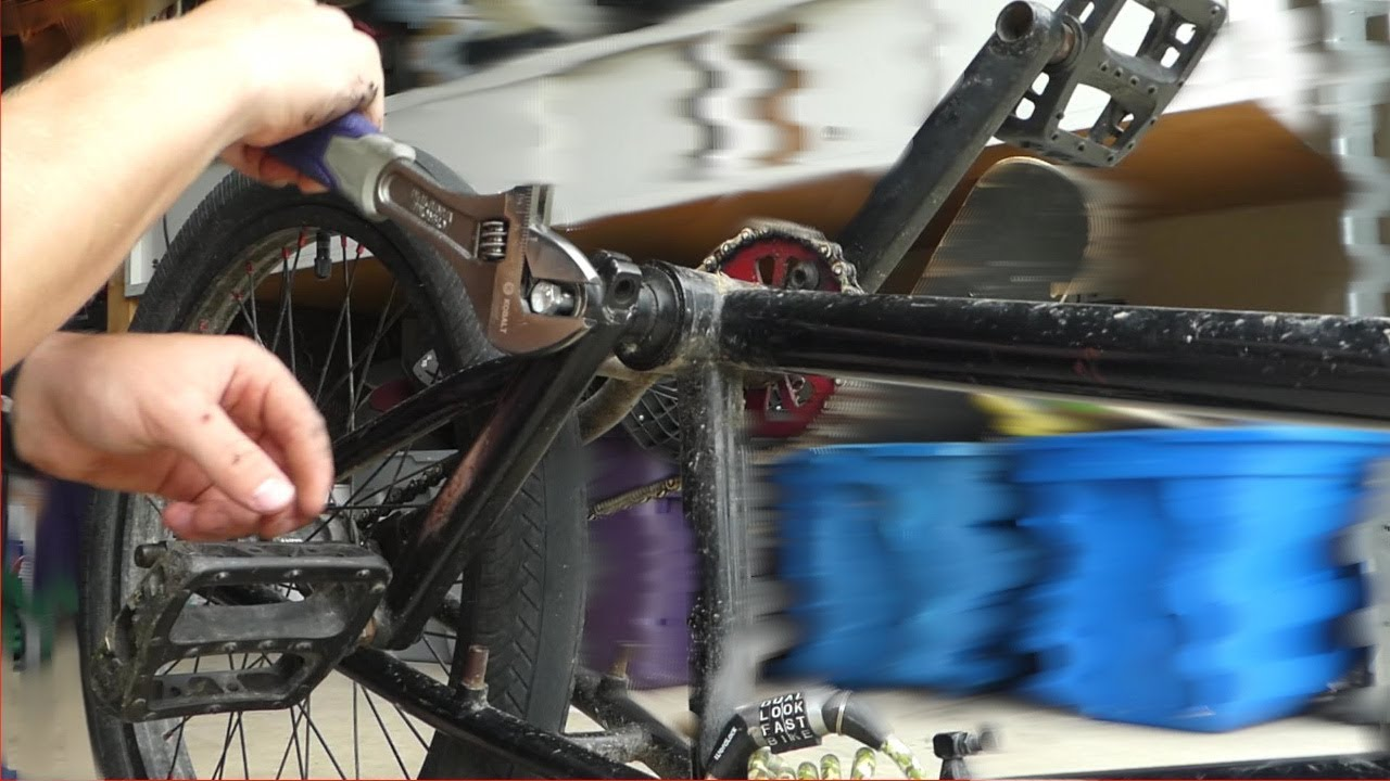 Kid Fixes BMX Bike... Kind of