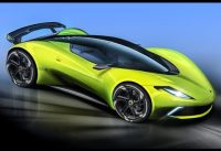 Lotus TYPE 130 the upcoming release    pure electric supercar.