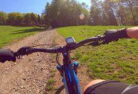 MTB Bergamo - Valle Seriana: Salita al Monte Purito da sotto la seggiovia (E-Bike ON)