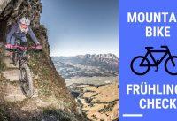 MTB Mountainbike Frühlings Check - Ist dein Bike fit für die neue Saison?