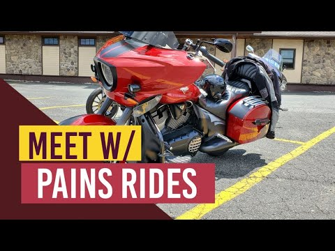 Meet and Ride with Pains Ride Vlog#331
