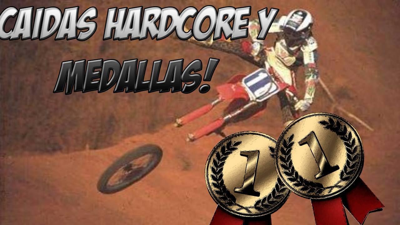Motocross Madness | Caidas extremas y ganándoles a los creadores
