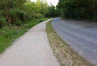 Mountain bike al Corona Verde,lungo le rive del fiume Stura di Lanzo.