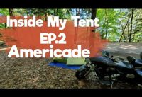 My first time Camping + Inside my  tent | Americade |  Ep.2  Vlog#339