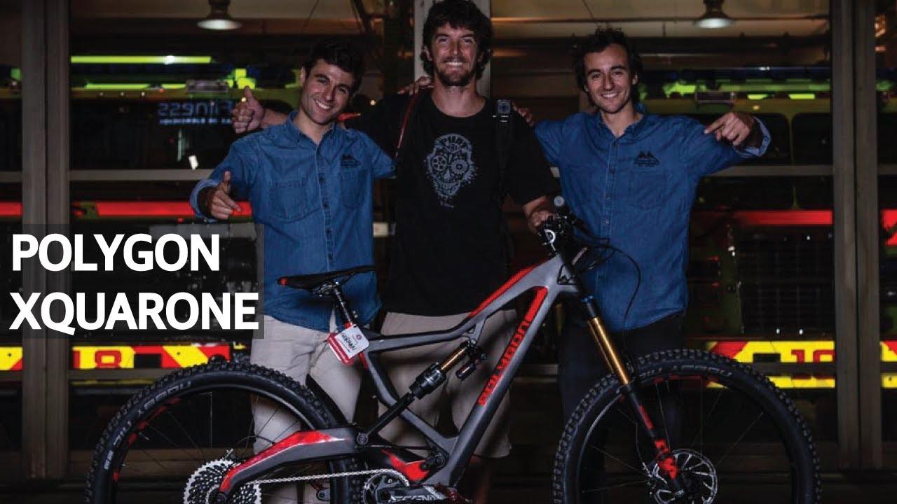 Nuevas bicicletas en Cross Mountain y las primeras pedaleadas con la Polygon!