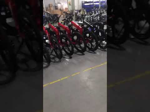 Our ebike assembly line Mountain bike M003.