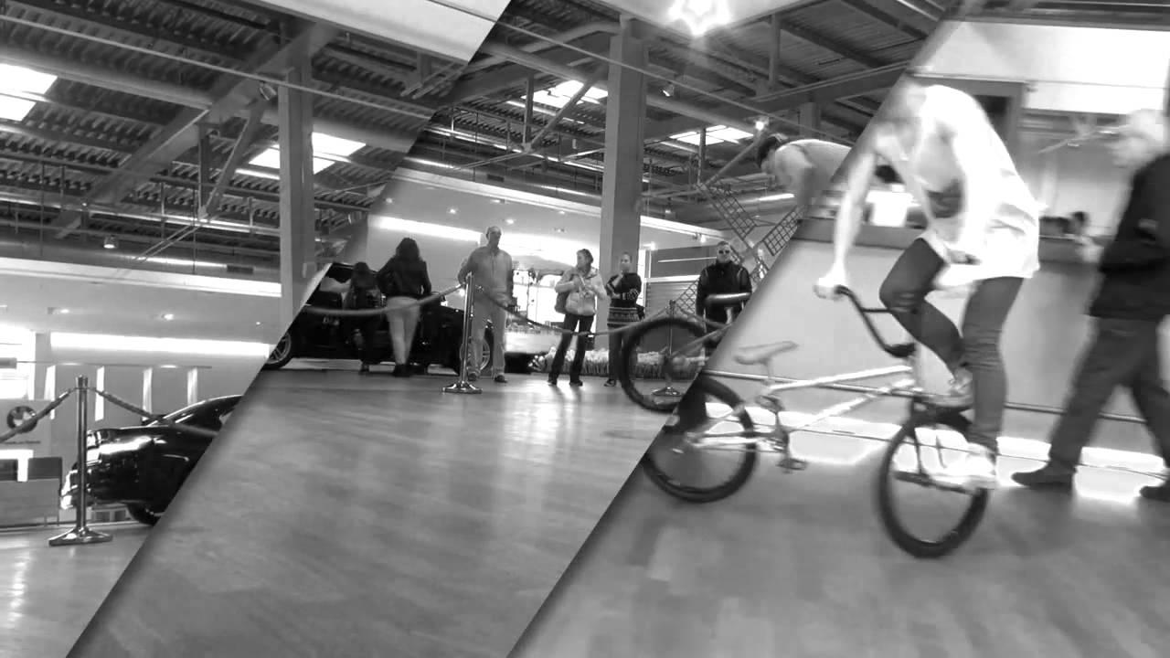Profi BMX Fahrer Chris Böhm an den BMW Bike'motiondays 2014 in Dielsdorf