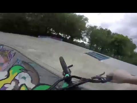 Short BMX solo-session @kasteellaan