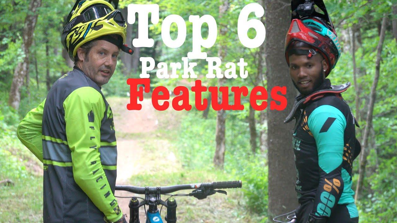 Snowshoe Bike Park Top Features