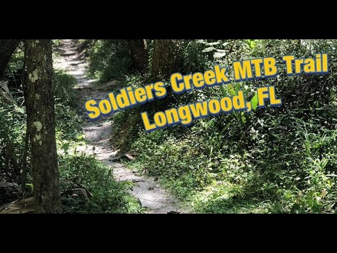 Soldiers Creek Mountain Bike Trail ( Longwood, Florida )