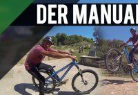 TUTORIAL: Auf dem Hinterrad rollen | Der Manual – ein Basic Bike Trick