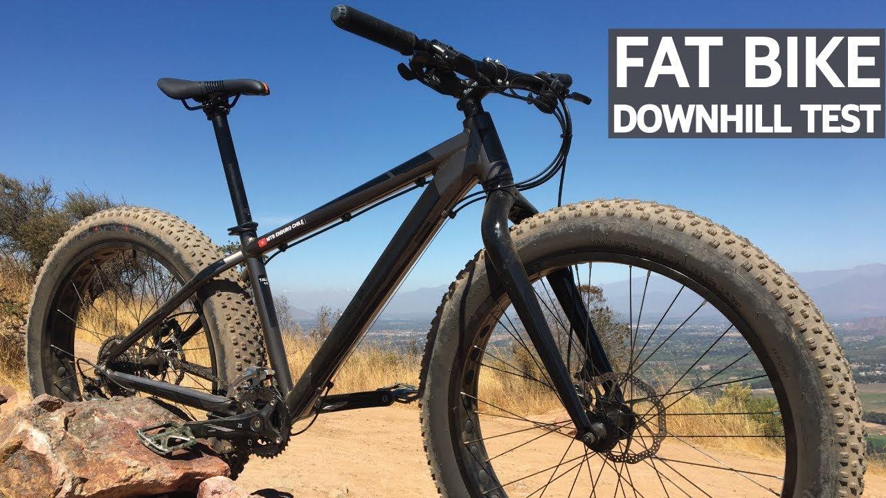 Test #7 - Downhill en Fat Bike por primera vez! Mis honestas impresiones de la gorda!