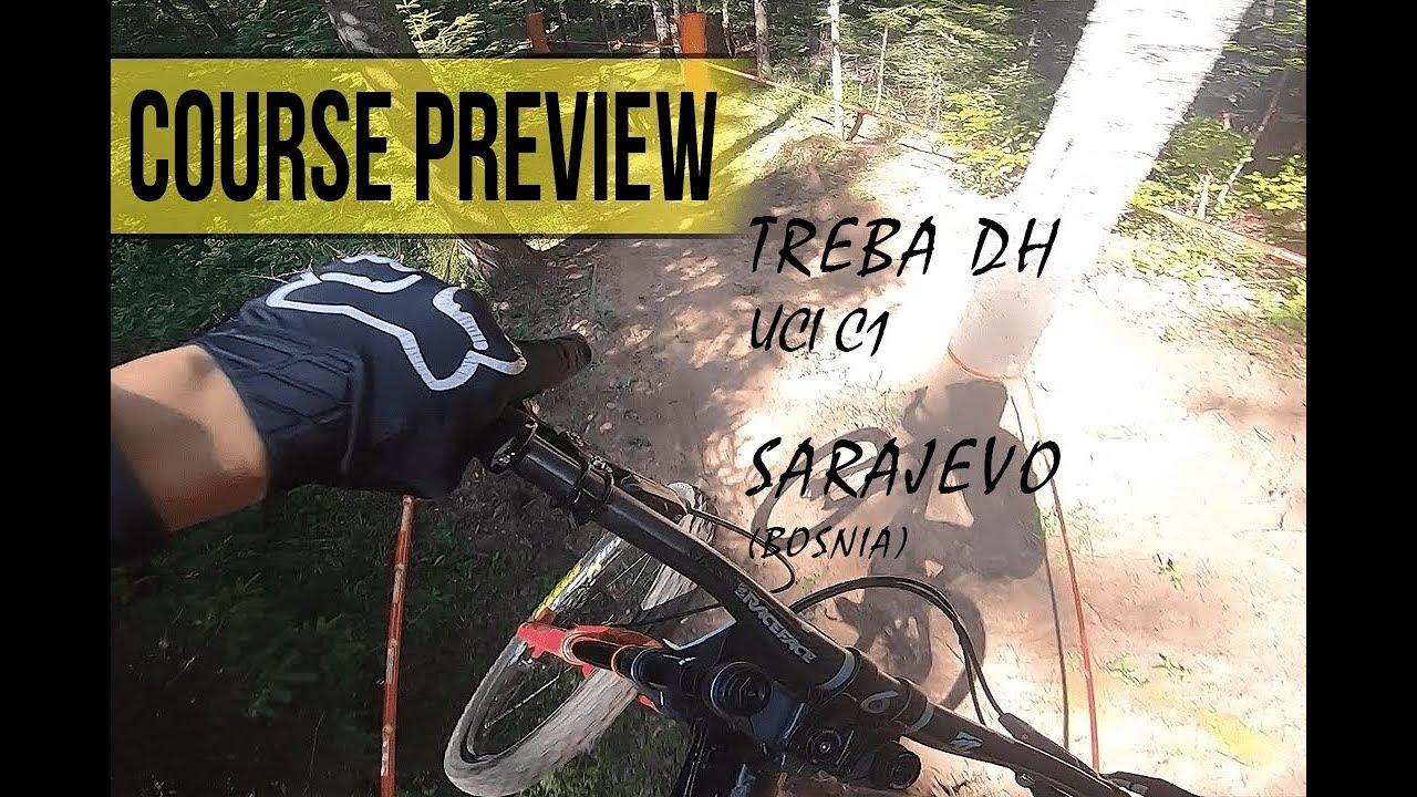 Treba DH Race - course preview  - Sarajevo (bosnia)