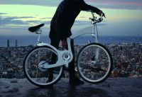 bike folding electric invention