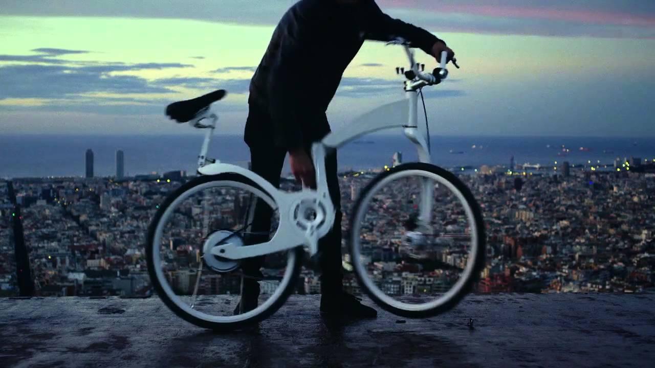 bike folding electric invention
